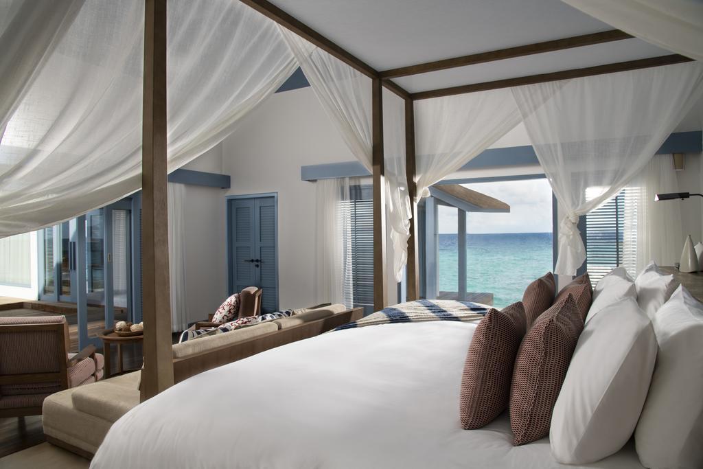 Raffles Maldives Meradhoo overwater villas