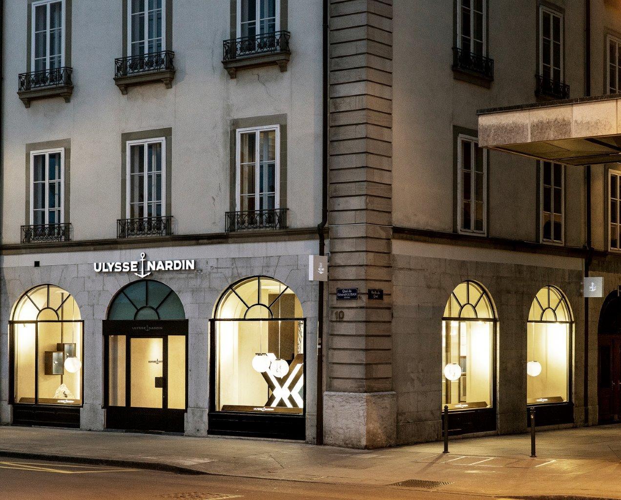 Ulysse-Nardin new store Geneva