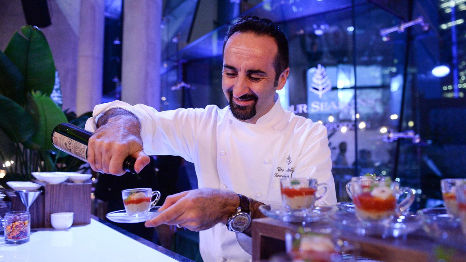 Vito Mollica, Chef Four Seasons Firenze