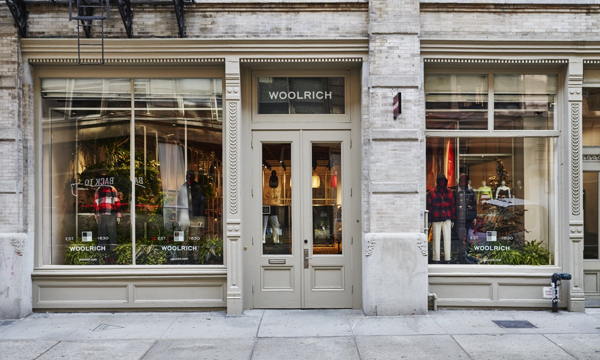 Woolrich new store New York