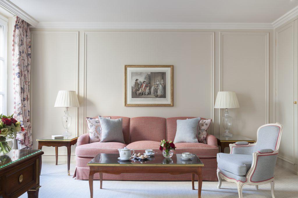 Le Bristol Paris, newly renovated suite