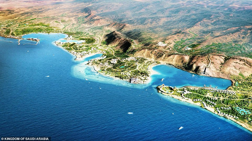 Amaala development Red Sea, Saudi Arabia