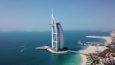 Burj Al Arab with new Terrace deck