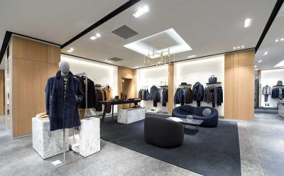 Hugo Boss newly renovated store Champs-Élysées, Paris