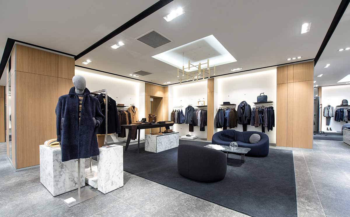 Hugo Boss newly renovated store Champs-Élysées, Paris
