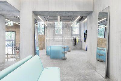 MSGM new store Milan