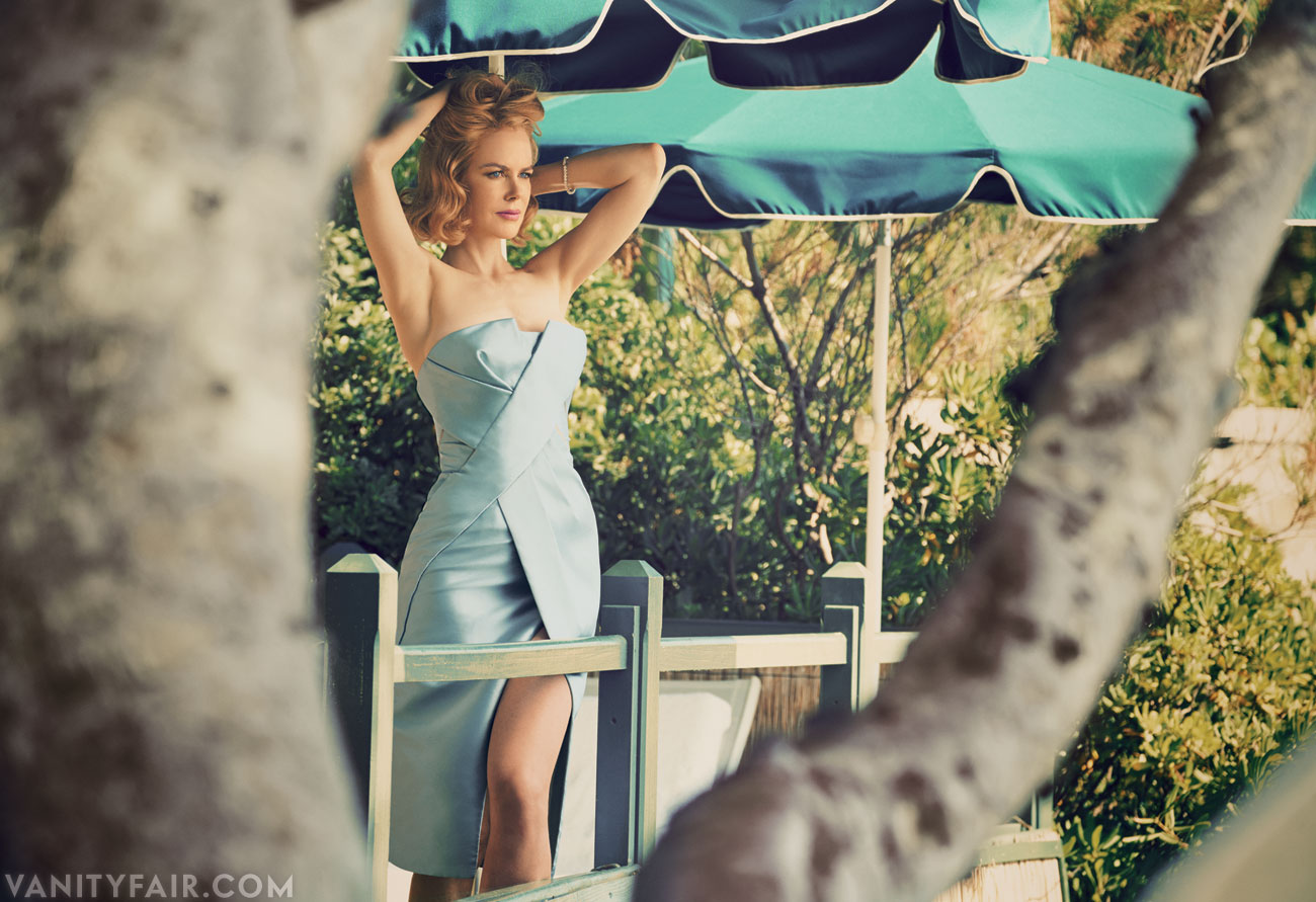 Nicole Kidman at Hotel du Cap Eden Roc (Vanity Fair) Patrick Demarchalier