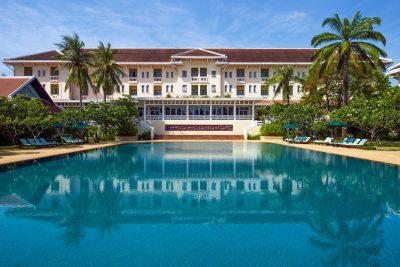 Raffles Grand Hotel d'Angkor reopens following renovations