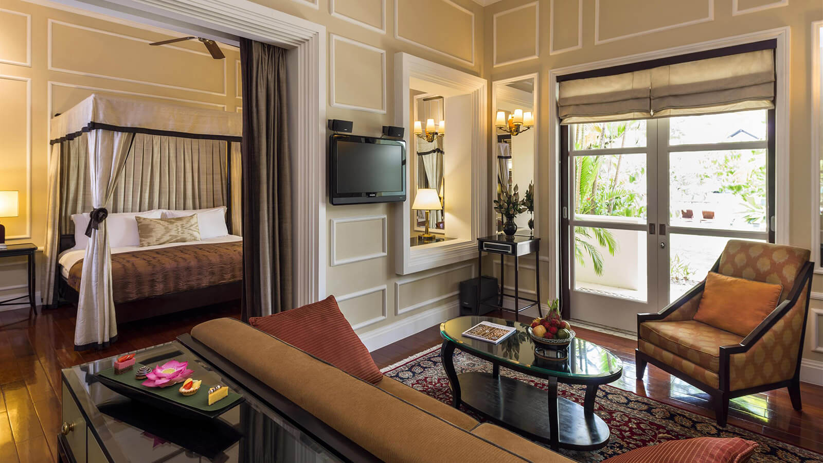 Raffles Grand Hotel d'Angkor reopens following renovations