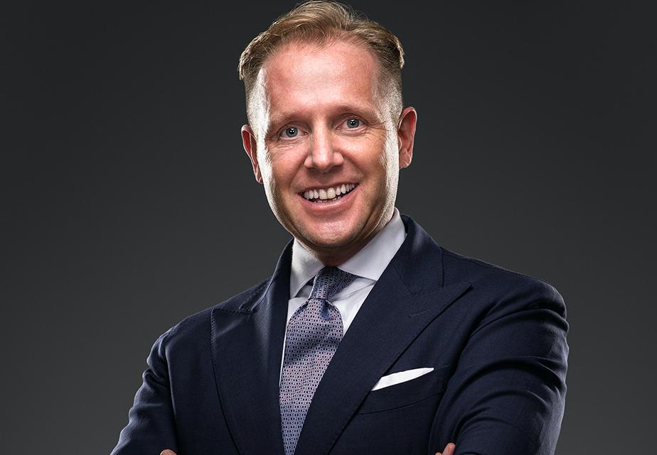 Aaron Kaupp Regional Vice President Europe, Jumeirah Hotels