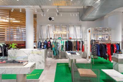 Selfridges men's designer room