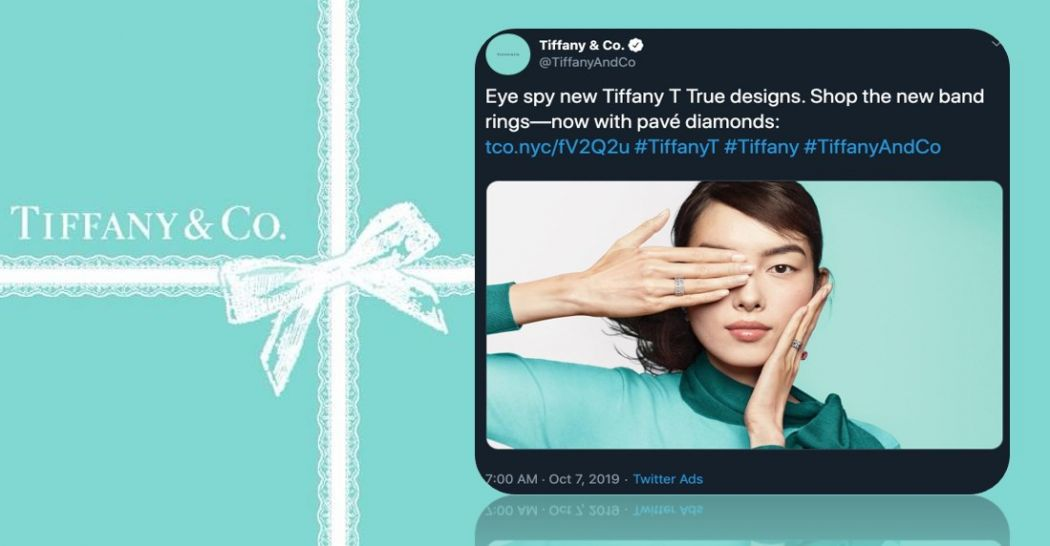 Tiffany & Co controversial ad campaign in Hong Kong