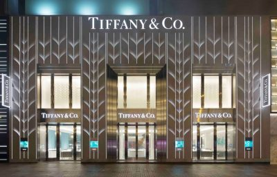 Tiffany & Co new flagship store Hong Kong at Peking Road