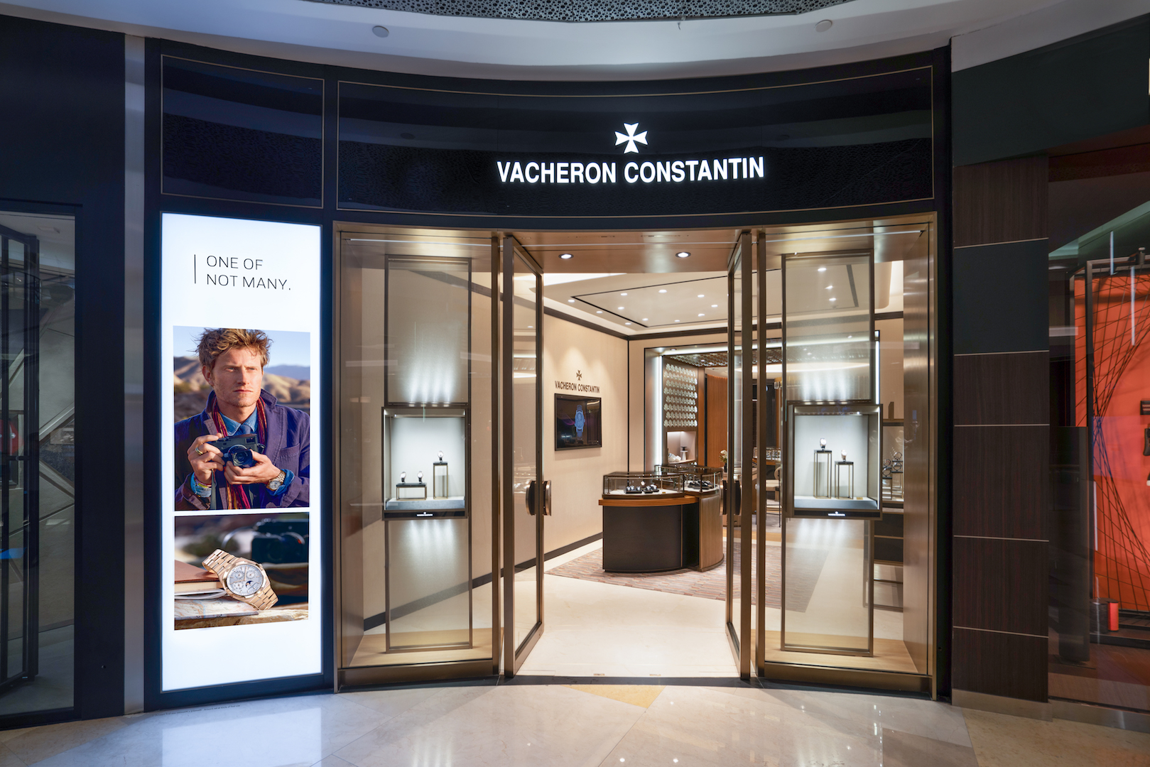 Vacheron Constantin new retail concept at ION Orchard Singapore store