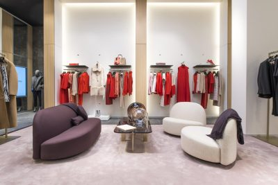 BOSS flagship store Paris at Champs Elysees