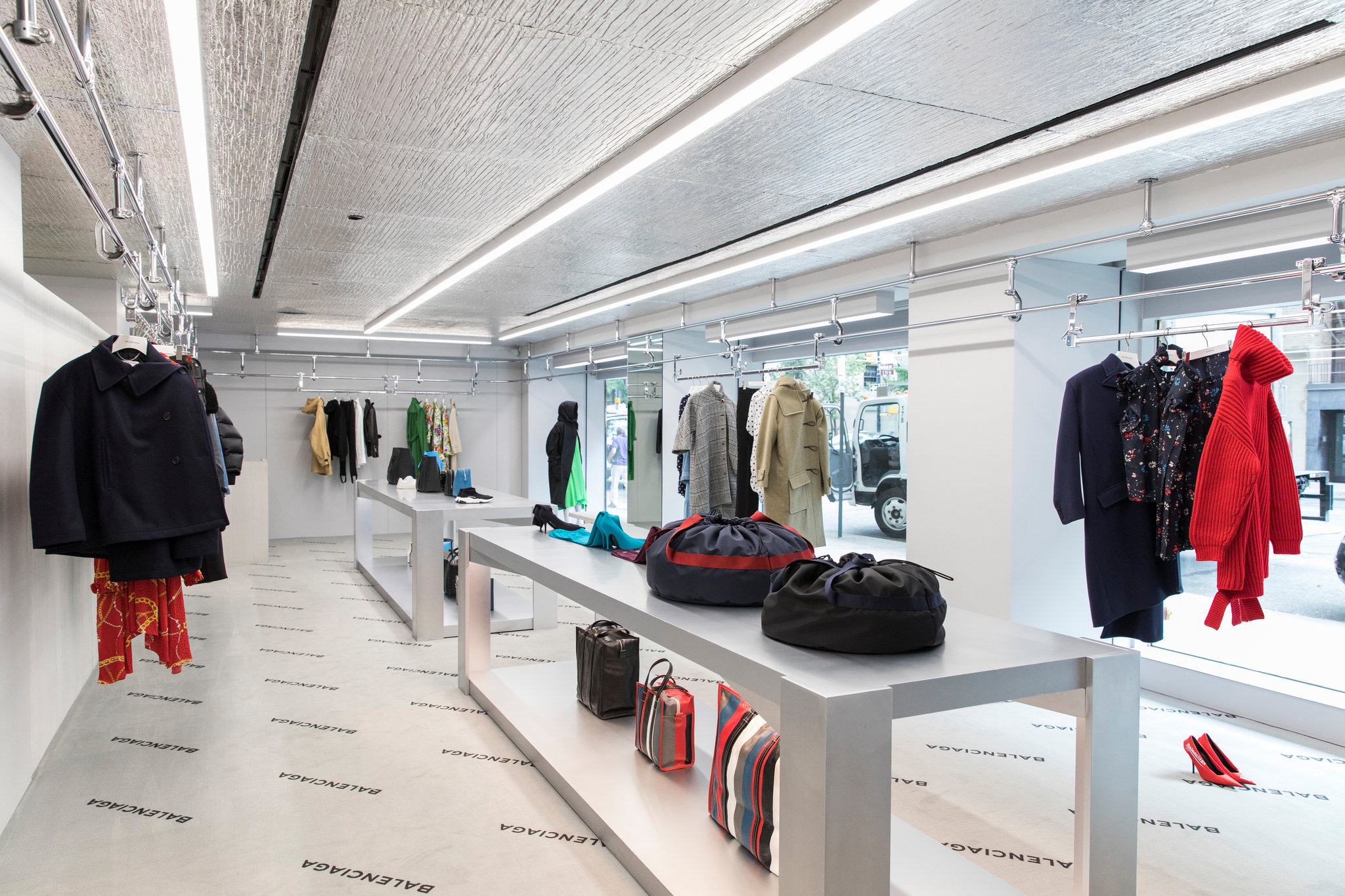 Balenciaga new store New York at Madison Avenue