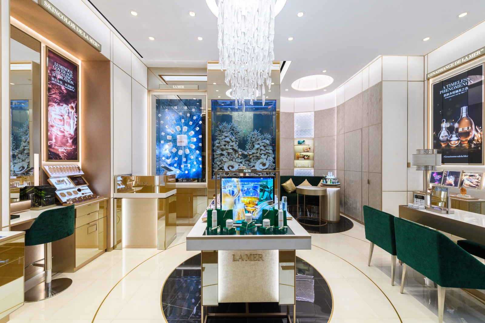 LA MER flagship boutique Singapore at Marina Bay Sands