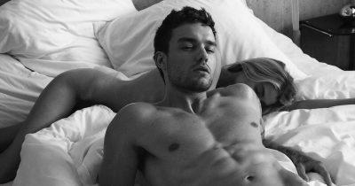 Liam Payne nude for HUGO campaign