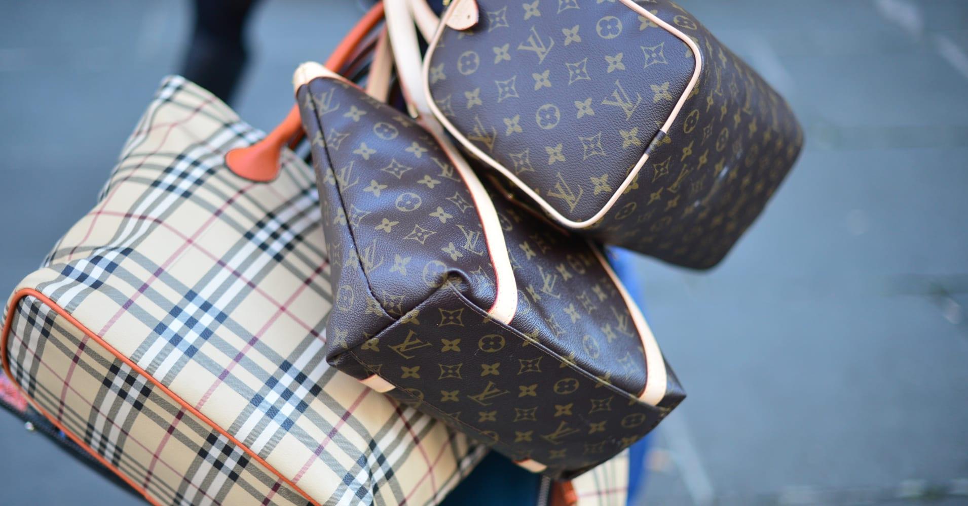 Luxury branded goods