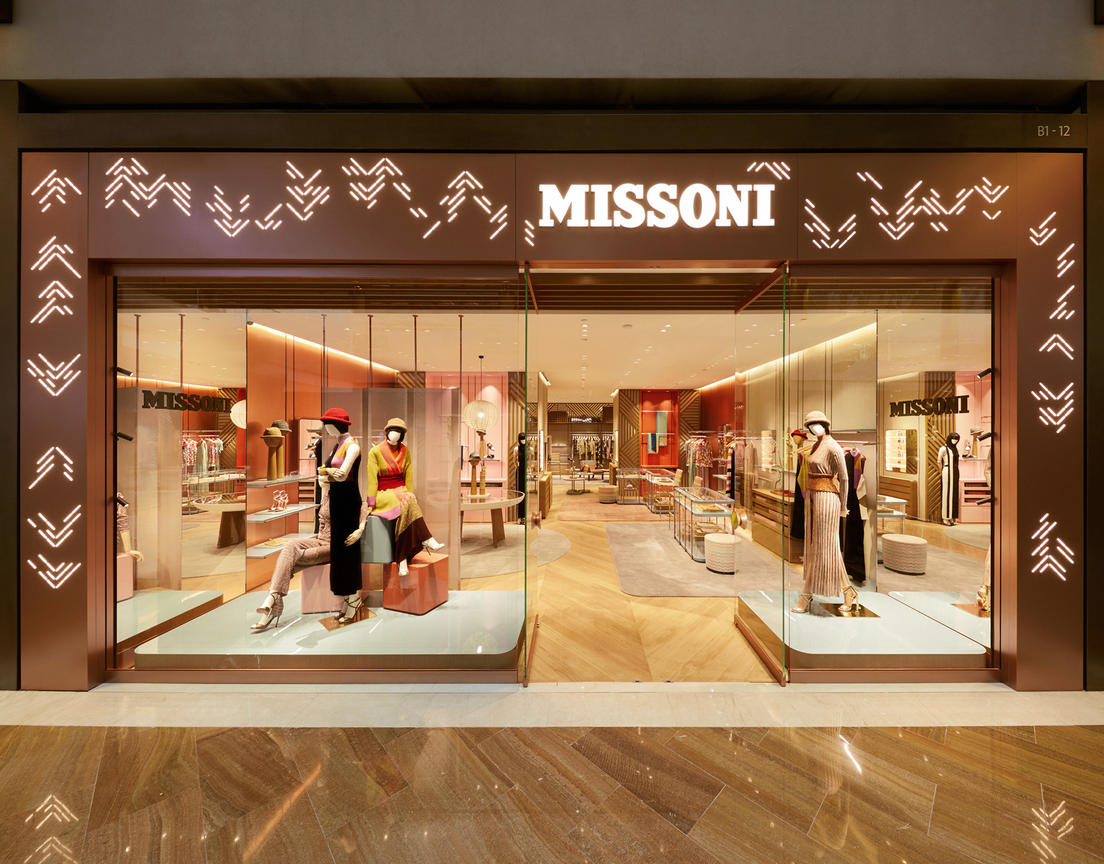 Missoni new store Singapore