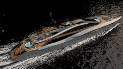 Rossinavi Pininfarina superyacht concept