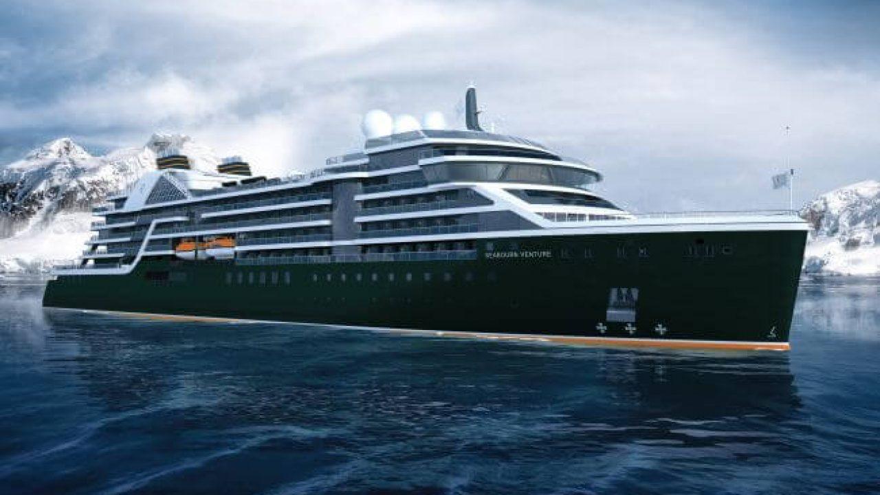 Seabourne Venture cruiseship