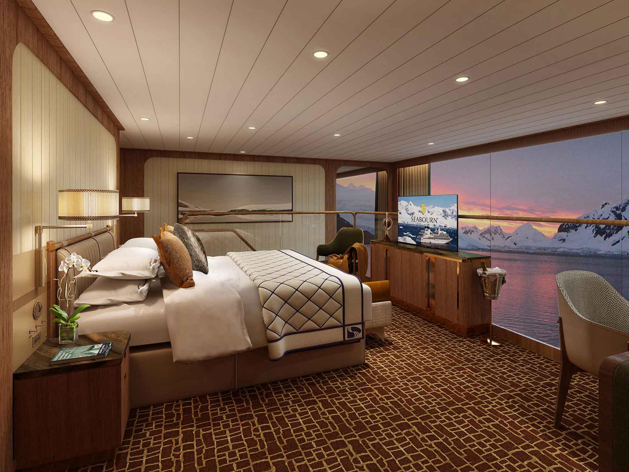 Seabourne Venture cruiseship - suite