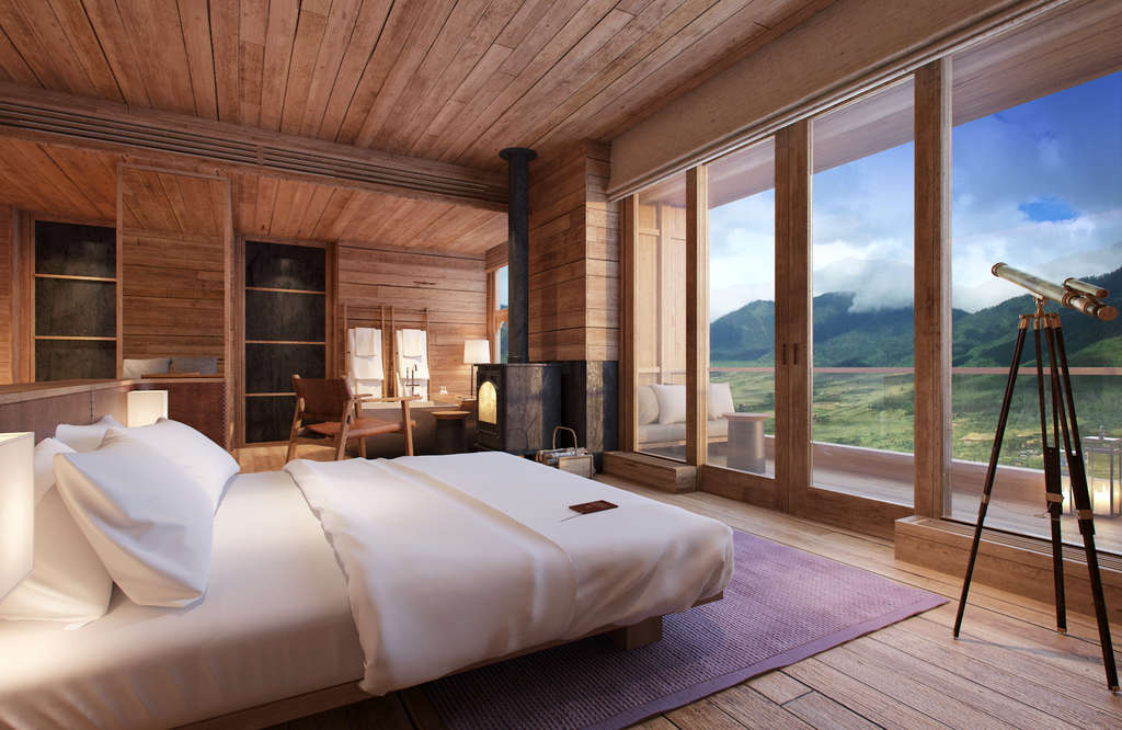 Six Senses Bhutan - fourth lodge Six Senses Gangtey