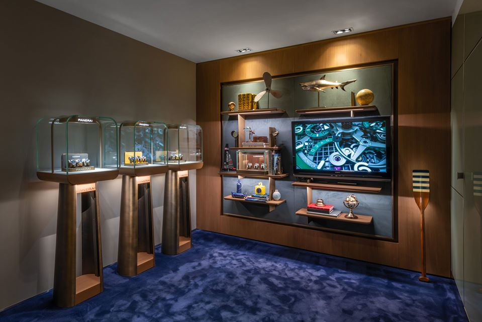 Panerai newly renovated store in Madrid, Spain