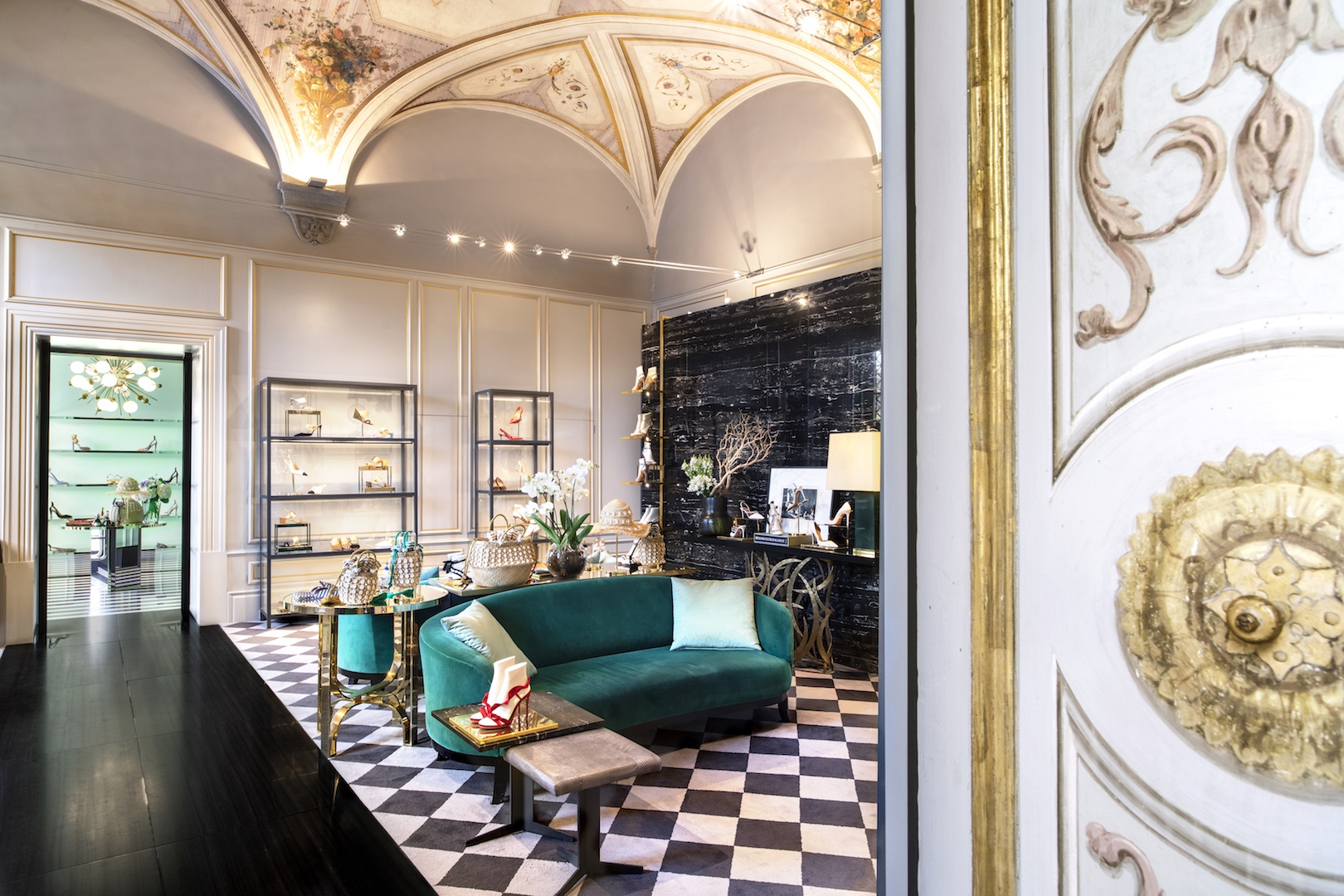 Aquazzura boutique Florence, Italy