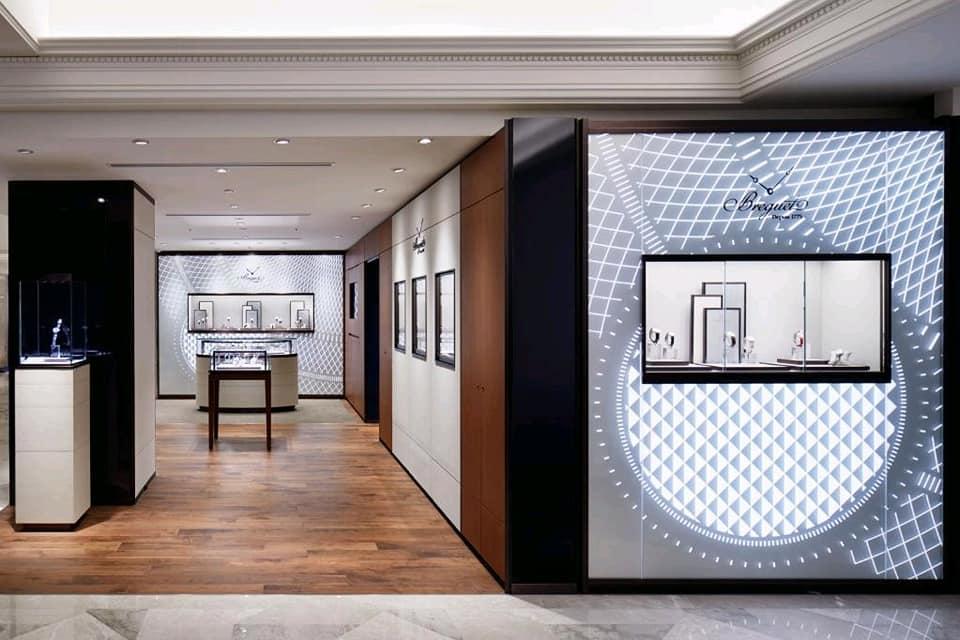 Breguet new boutique Tokyo at Mitsukoshi Nihonbashi
