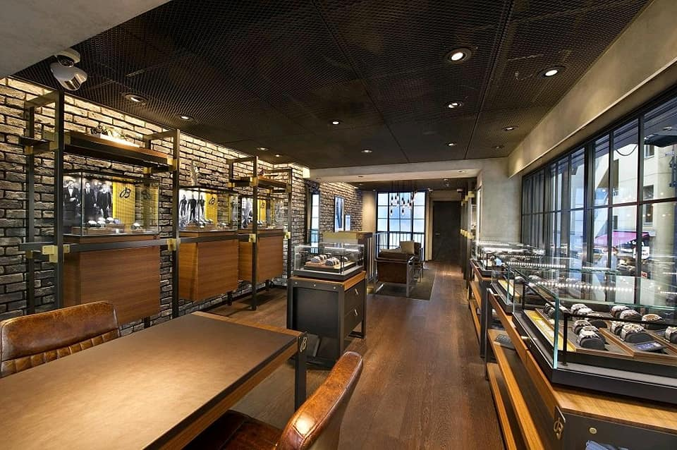 Breitling newly reopened flagship store Tokyo, Ginza