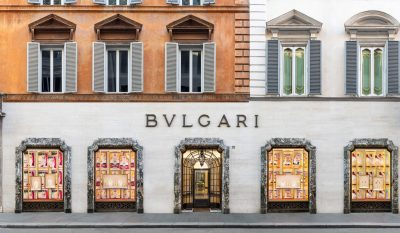 Bulgari flagship store in Rome, Italy