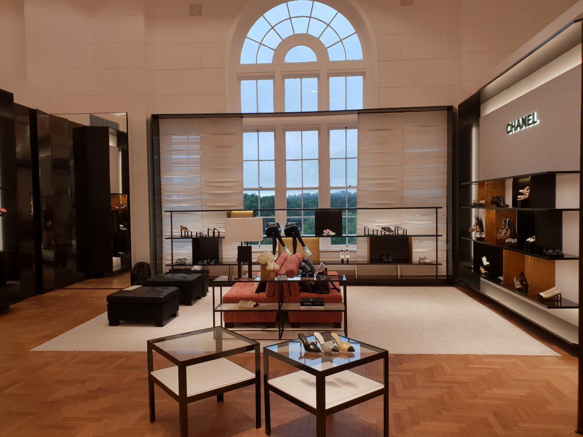 Chanel new boutique at David Jones, Sydney