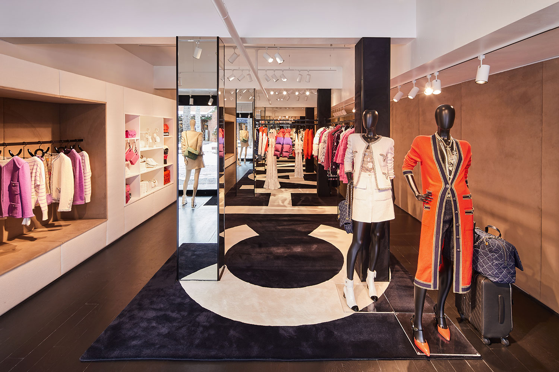 Chanel new pop-up store in Aspen