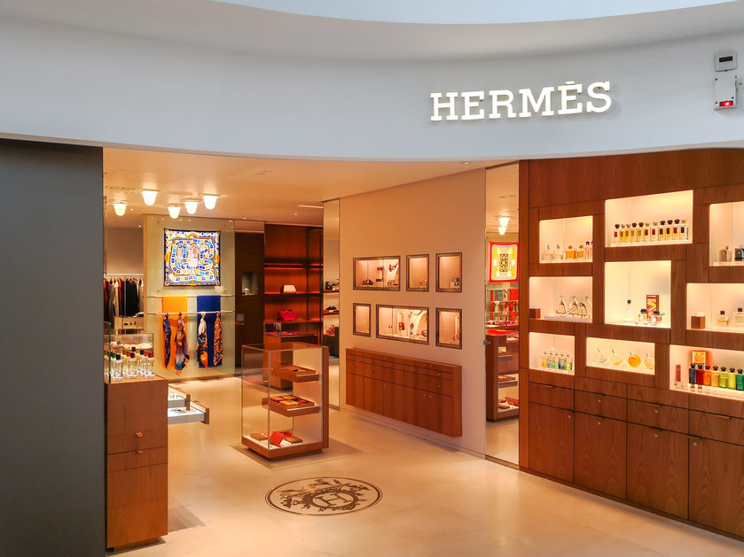 Hermes new store Warsaw, Poland