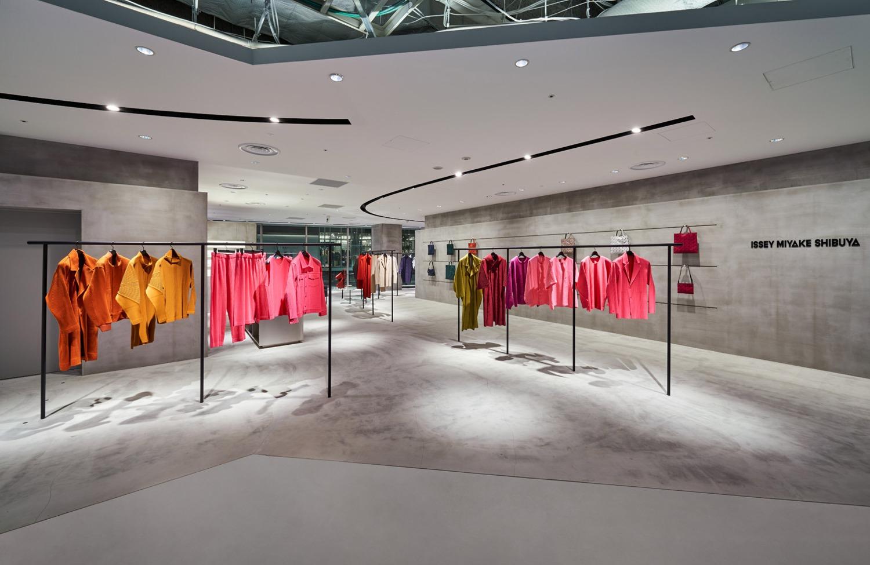Issey Miyake new flagship store in Tokyo at Shibuya Parco
