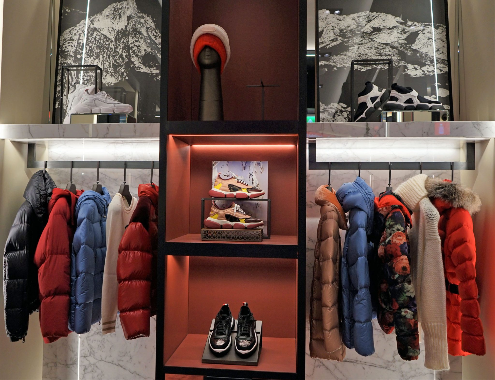 Moncler new store at Istanbul International Airport