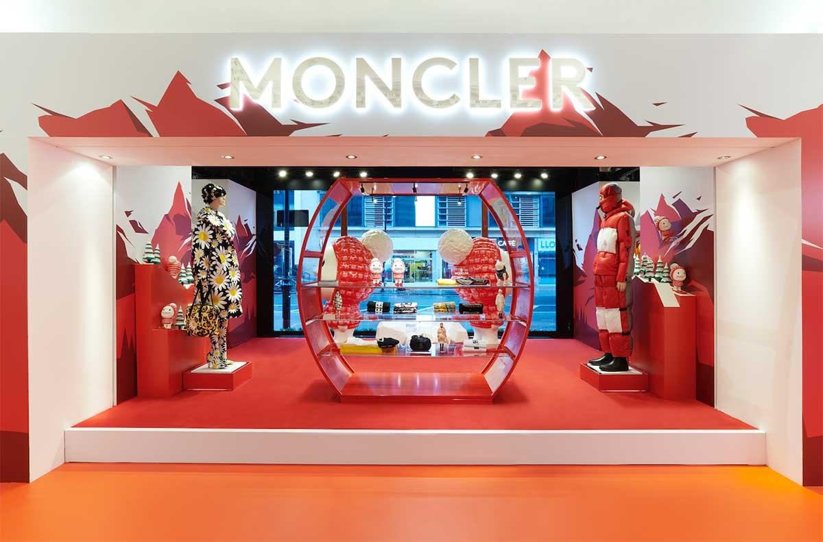 Moncler opens Genius pop-up at Harrods, London