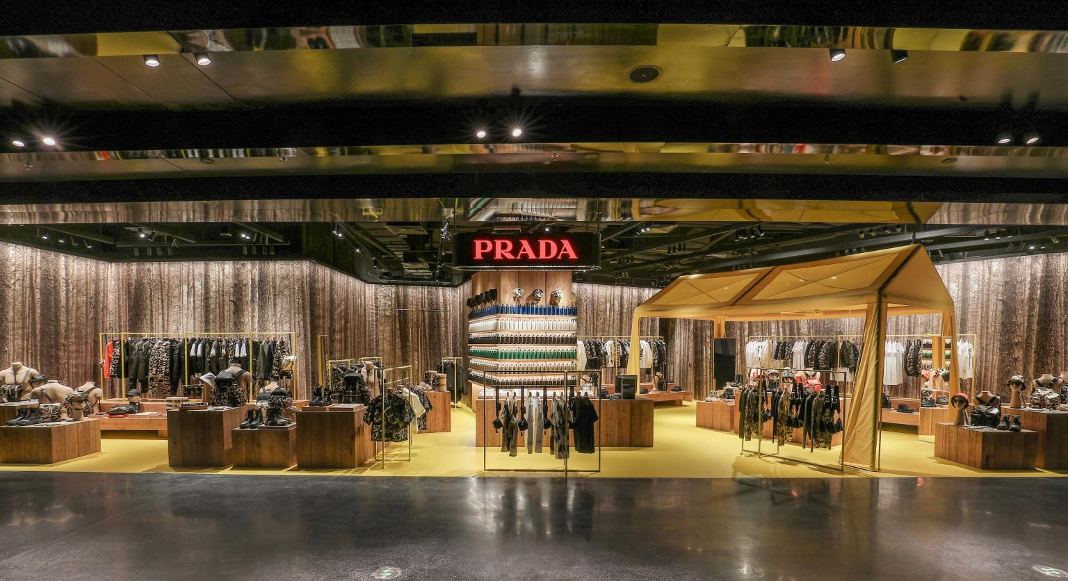 Prada Escape store in Beijing at SKP Mall