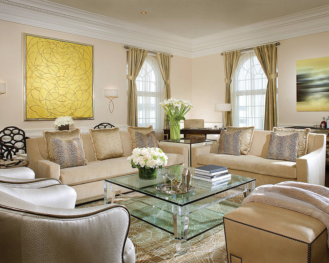 Beverly Wilshire, a Four Seasons Hotel - newly renovated Presidential Suite