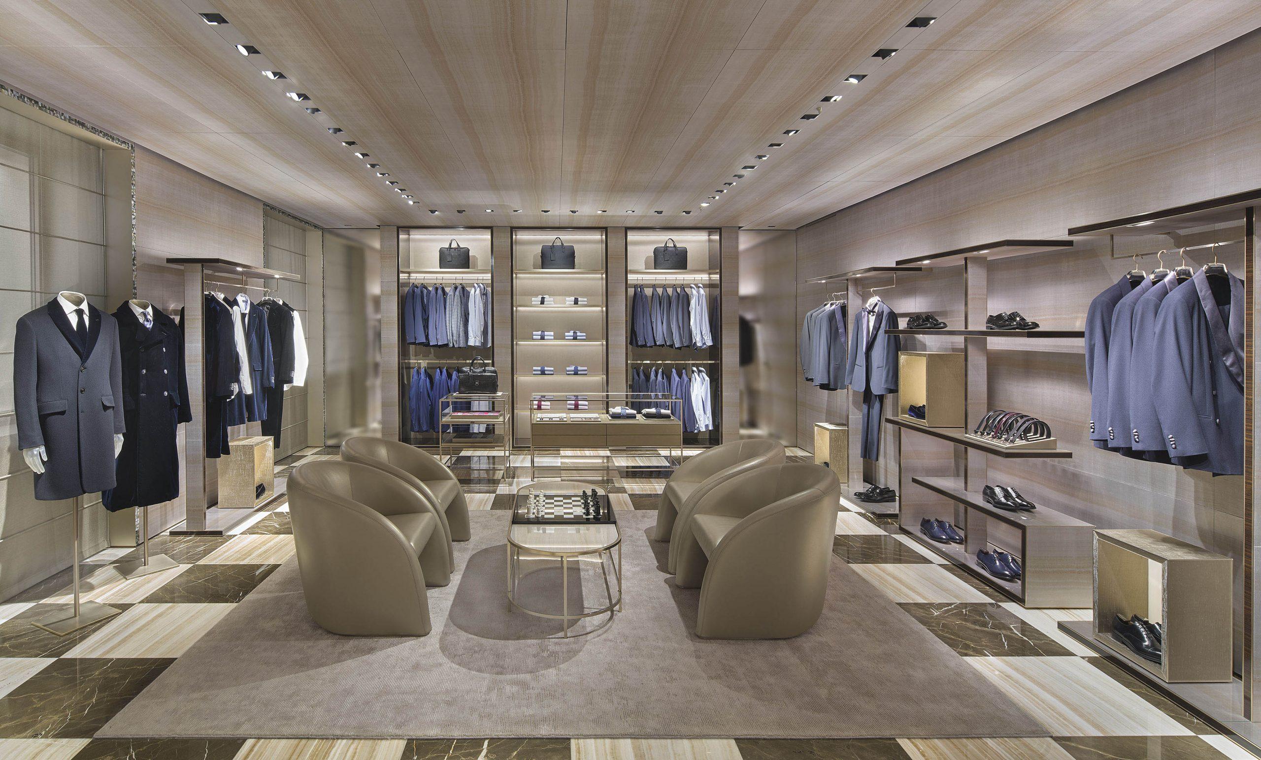 Giorgio Armani flagship store Milan, Via Sant' Andrea (new concept)