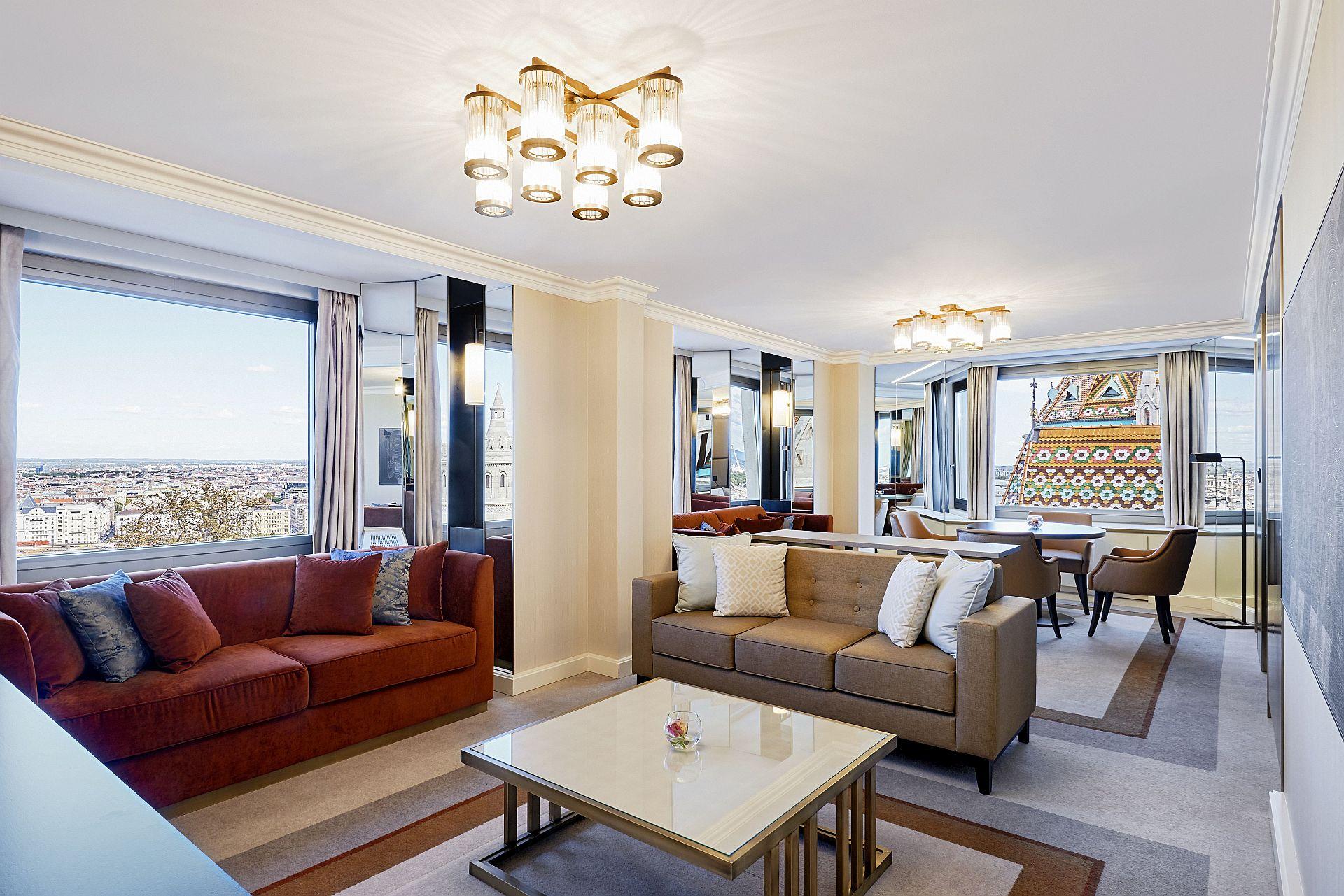 Hilton Budapest (Buda, Castle Hill) - Danube River Suite