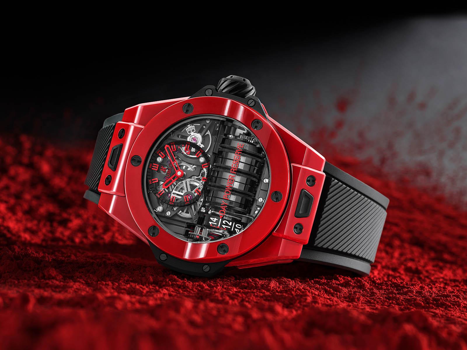 Hublot Big Bang Integral - Red Magic at LVMH Watch Week Dubai