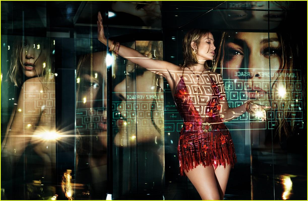 Jennifer Lopez or Versace Spring Summer 2020 ad campaign
