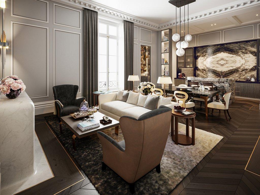 L'Hotel Particulier Villeroy, Paris apartment
