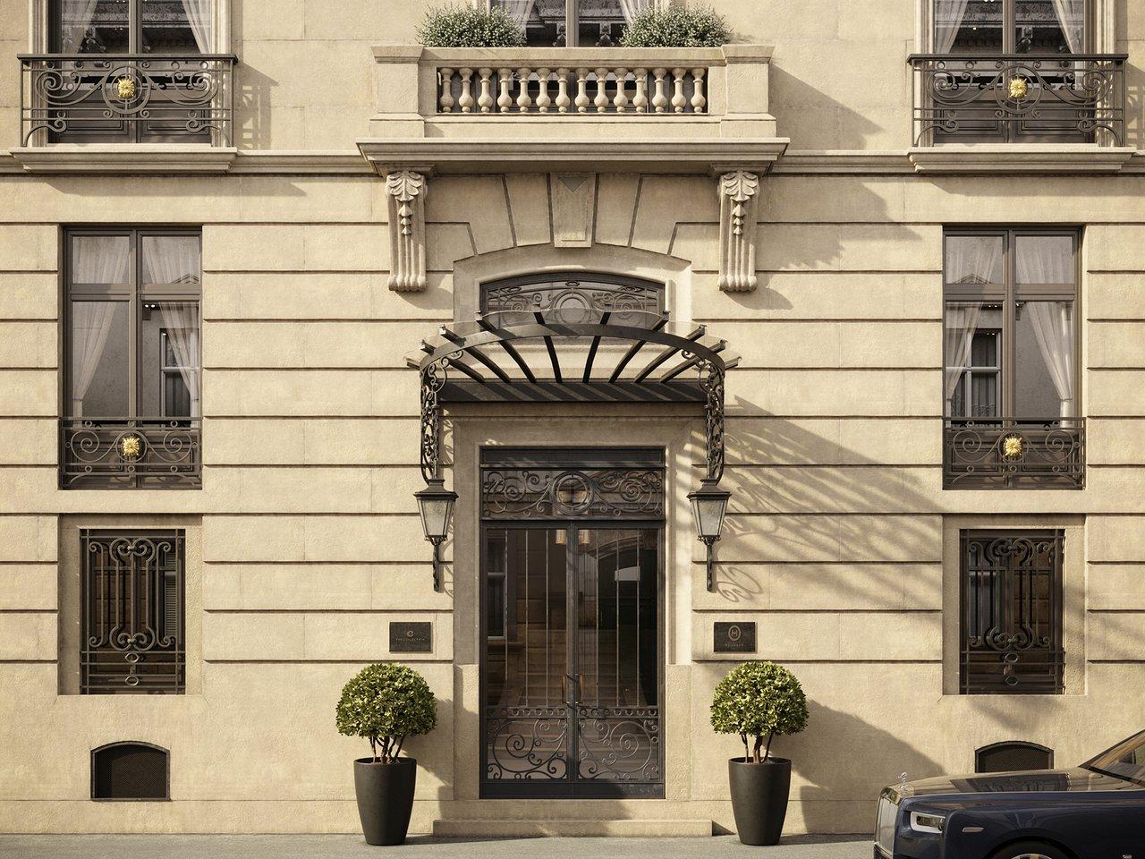 L'Hotel Particulier Villeroy, Paris facade