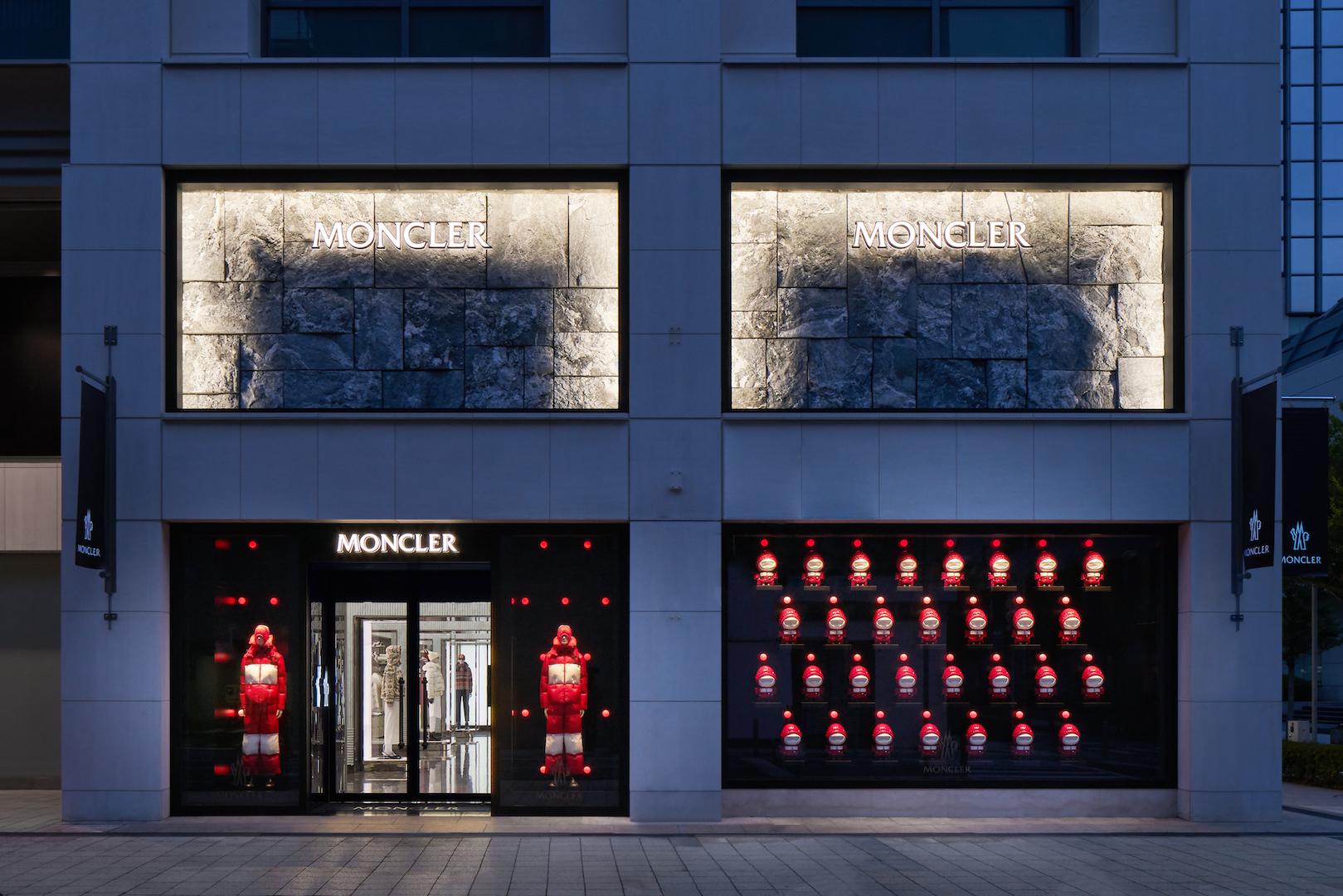 MONCLER new store in KOBE (Hyogo)