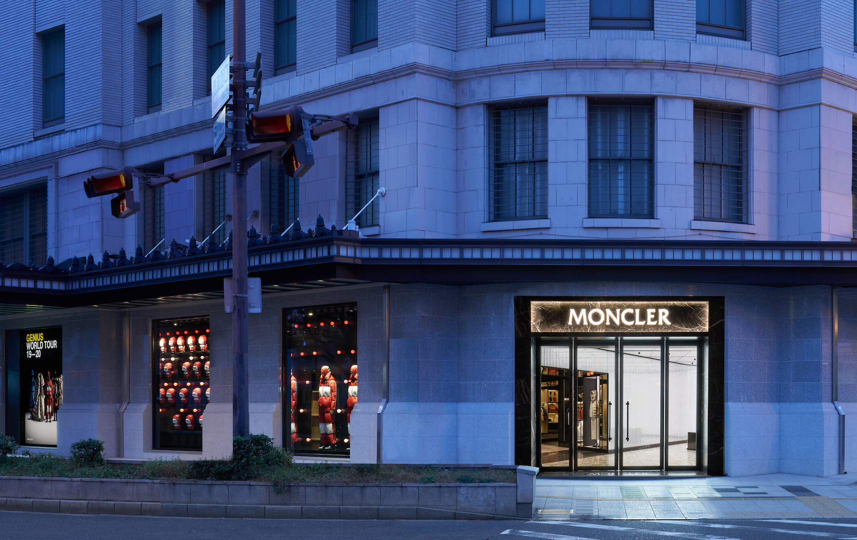 MONCLER new store in Osaka (Namba)