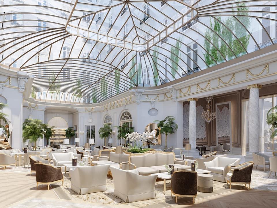 Mandarin Oriental Ritz, Madrid opens July 2020 - lobby